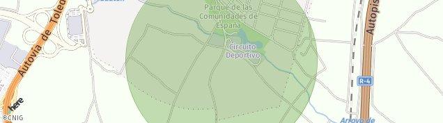 Mapa Parla
