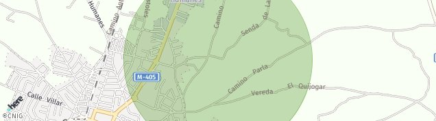 Mapa Griñón