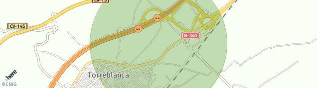Mapa Torreblanca