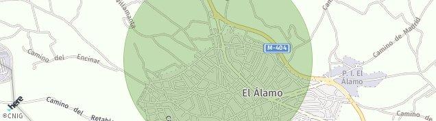 Mapa El Álamo