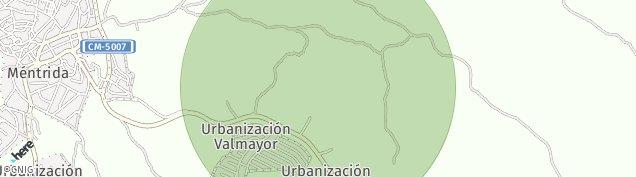 Mapa Méntrida
