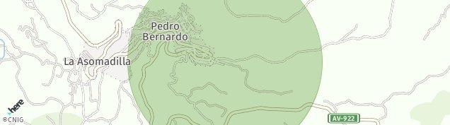 Mapa Pedro Bernardo