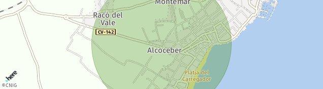 Mapa Alcossebre