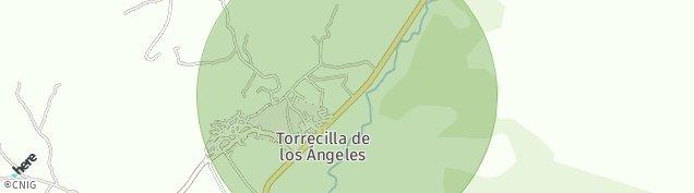 Mapa Torrecilla de los Ángeles