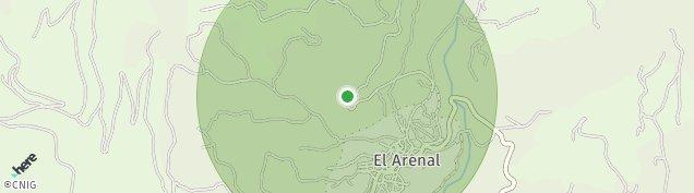 Mapa El Arenal de Ávila