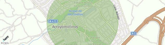 Mapa Arroyomolinos