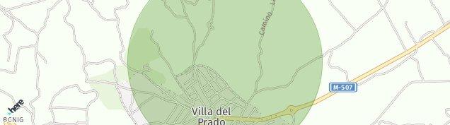 Mapa Villa del Prado