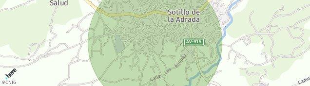 Mapa Sotillo de la Adrada