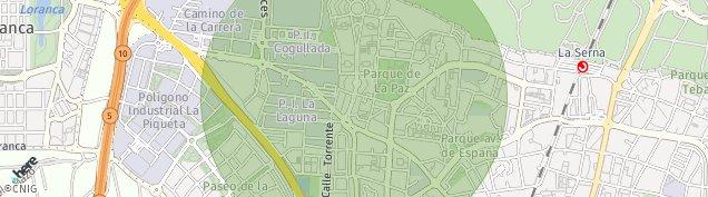 Mapa Fuenlabrada