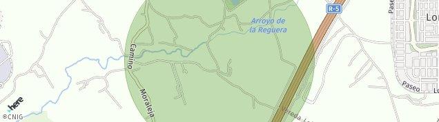 Mapa Móstoles