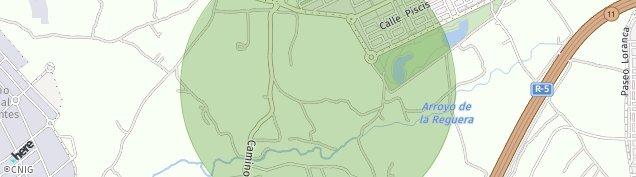 Mapa Valdefuentes