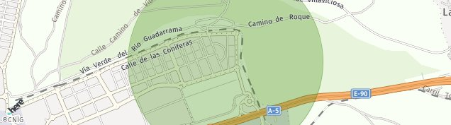 Mapa Navalcarnero