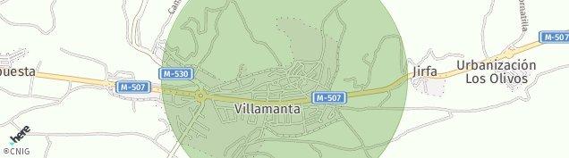 Mapa Villamanta