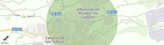 Mapa Cadalso de los Vidrios