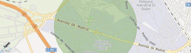 Mapa La Poveda