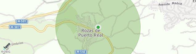 Mapa Rozas de Puerto Real