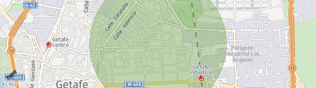 Mapa Getafe