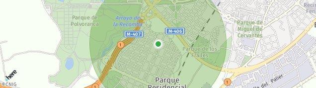 Mapa Leganés