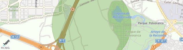 Mapa Alcorcón