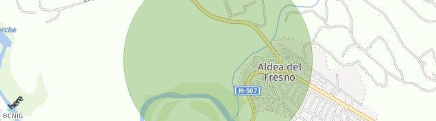 Mapa Aldea del Fresno