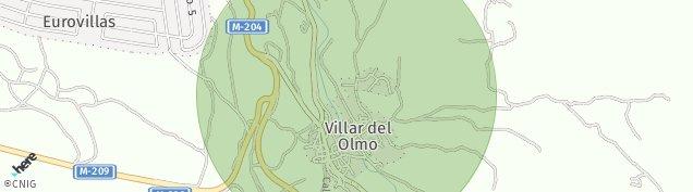 Mapa Villar del Olmo