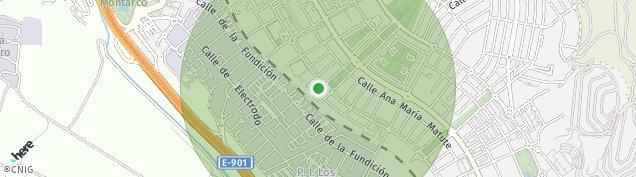 Mapa Colonia Pablo Iglesias