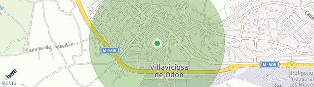 Mapa Villaviciosa de Odón