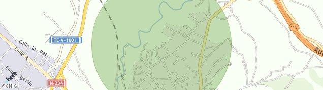 Mapa Teruel