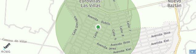 Mapa Las Villas de Nuevo Baztan
