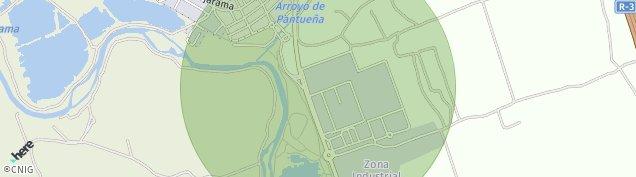Mapa Velilla de San Antonio