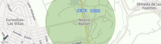 Mapa Nuevo Baztán