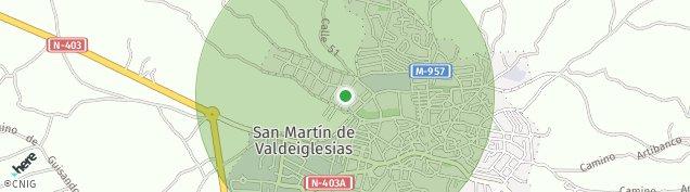 Mapa San Martín de Valdeiglesias