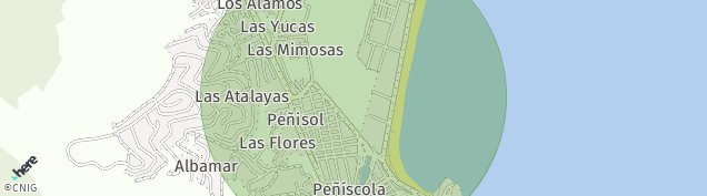 Mapa Peñiscola