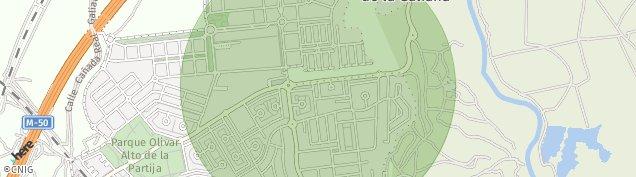 Mapa Rivas-Vaciamadrid