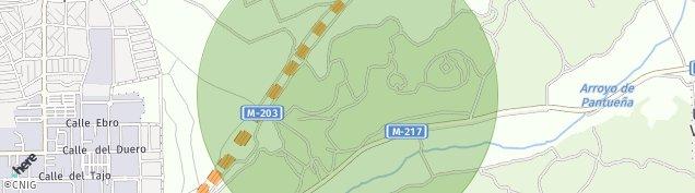 Mapa Mejorada del Campo