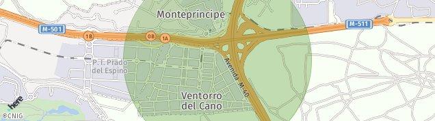 Mapa Monteprincipe