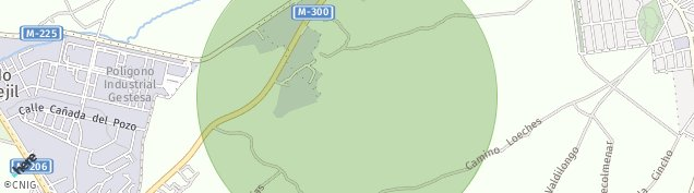 Mapa Loeches