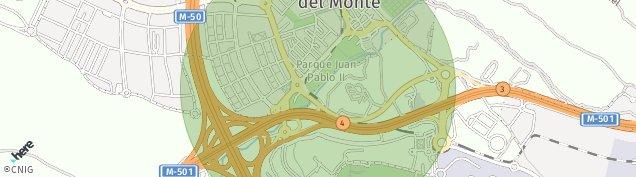 Mapa Boadilla del Monte