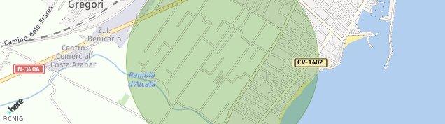 Mapa Benicarló
