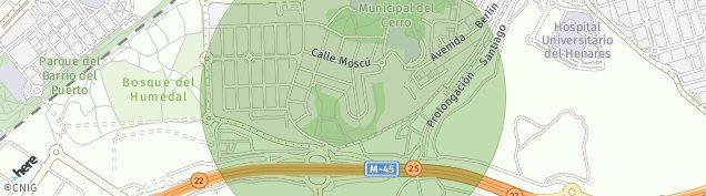 Mapa Coslada