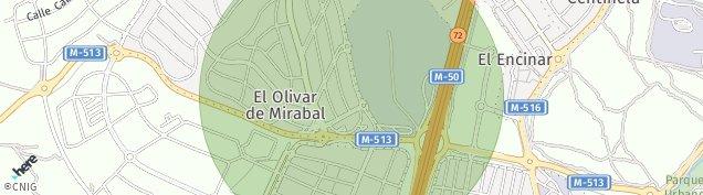 Mapa Residencia Nuestra Señora del Pilar