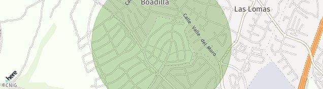 Mapa Parque Boadilla