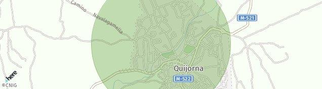 Mapa Quijorna