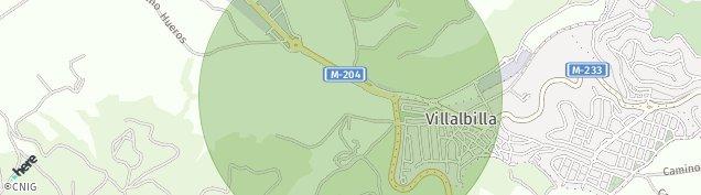 Mapa Villalbilla