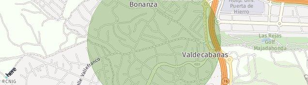 Mapa Valdecabañas