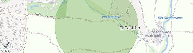 Mapa Camino de Las Fuentes