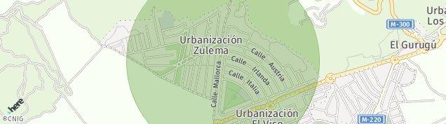 Mapa Zulema