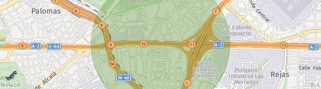 Mapa Madrid