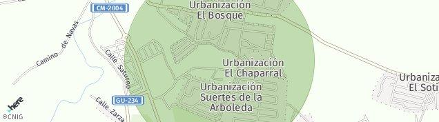 Mapa Pioz