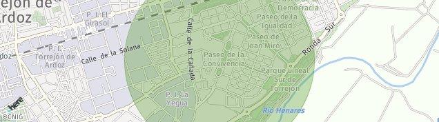 Mapa Mercado Parque Corredor del Henares